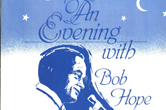 Cover image from the program of Bob Hope's concert benefiting Sequoia Hospital Foundation.